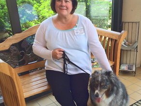 Love on a Leash Volunteer: Ann Spooner