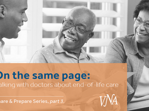 The Share and Prepare Series, part 3: Talking with Doctors about End-of-Life Care.