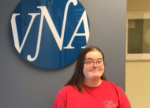 VNA's Amazing Volunteers Spotlight On:  Clare Foley