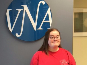VNA's Amazing Volunteers Spotlight On:  Clare Foley