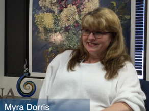 Meet Myra Dorris, LCSW with Visiting Nurse Association
