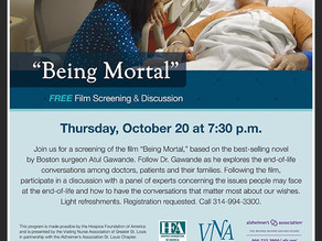 VNA Partners with St. Louis County Library to Present a Free Screening of the film 'Being Mortal