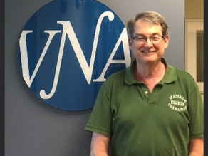 VNA's Amazing Volunteers Spotlight On: Bill Busch
