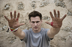ryan doyle hands blood
