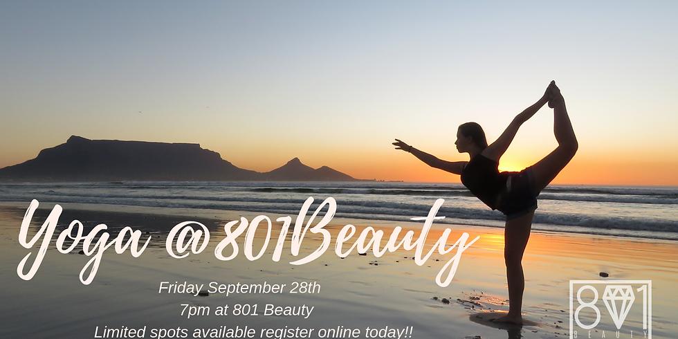 Yoga at 801 Beauty