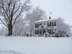 Park House at Christmas