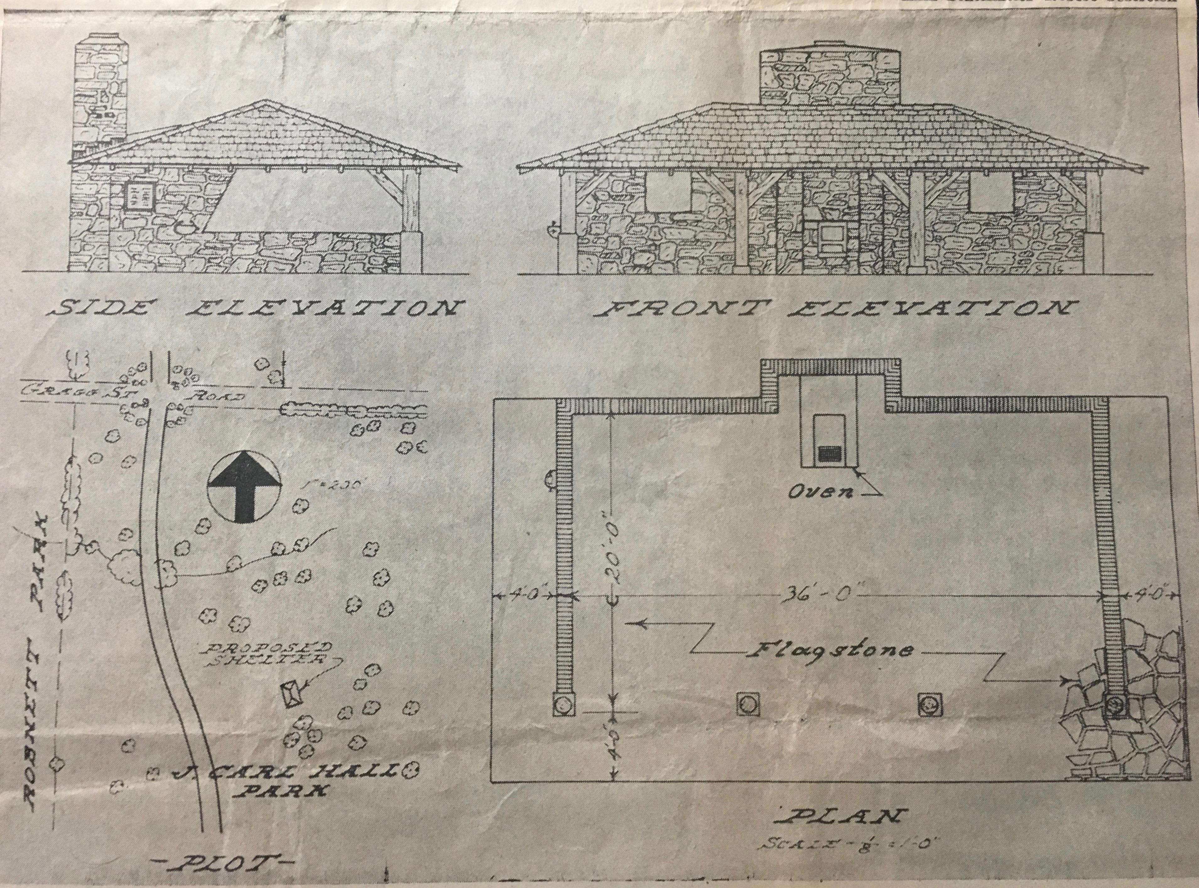 Miner's Memorial design