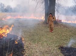 PRAIRIE CONTROLLED BURN