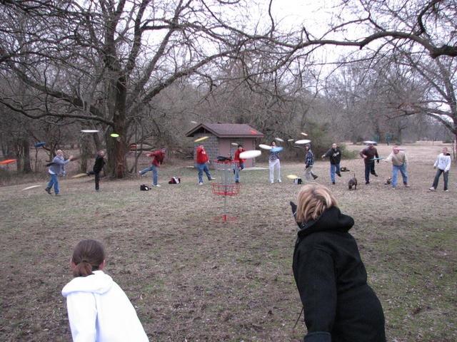 Disc Golf Tournament Fun