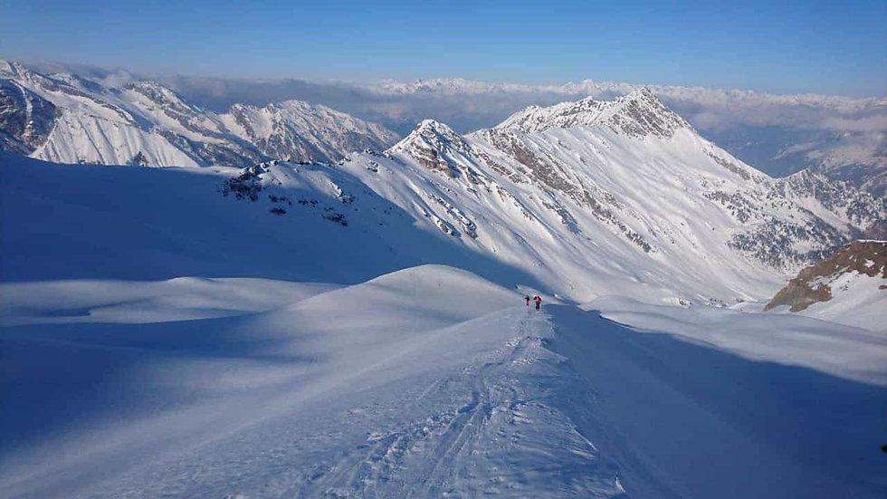 Skitouren in der Gruppe um Innsbruck