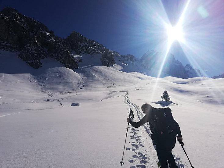 Skitourencamp Kemater Alm Tirol
