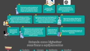 Higienização e Limpeza das Áreas Comuns