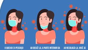Máscara no Queixo: Conheça os Riscos