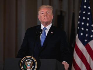 دونالد ترامپ رسما خروج از توافق هسته ای با جمهوری اسلامی را اعلام کرد!