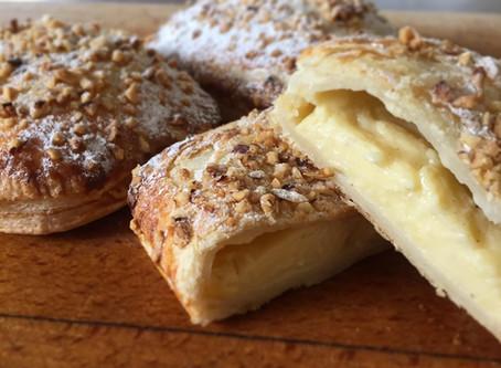 Pantxineta or Custard Pastries