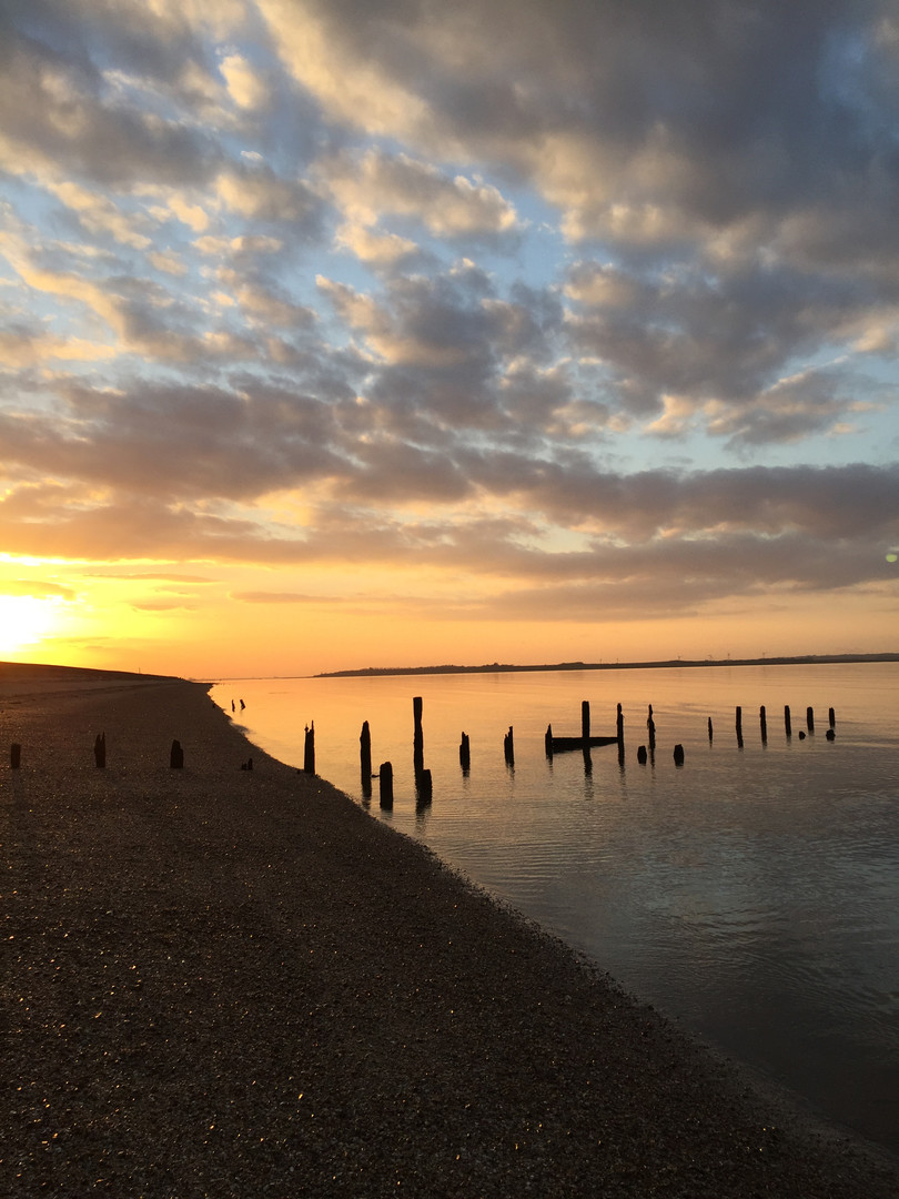 We're just a short distance from the Kent coastline