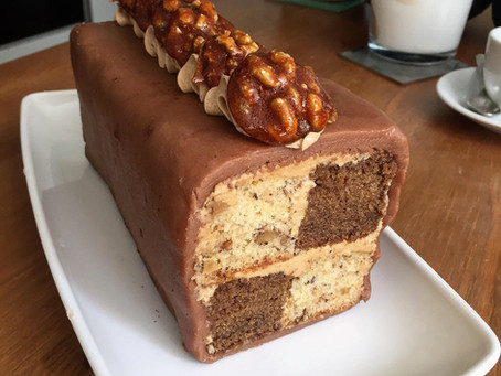 Mocha & Walnut Battenburg