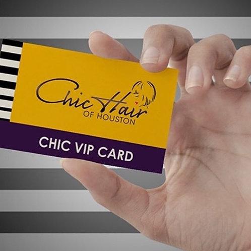 Annual Chic VIP Discount Card!