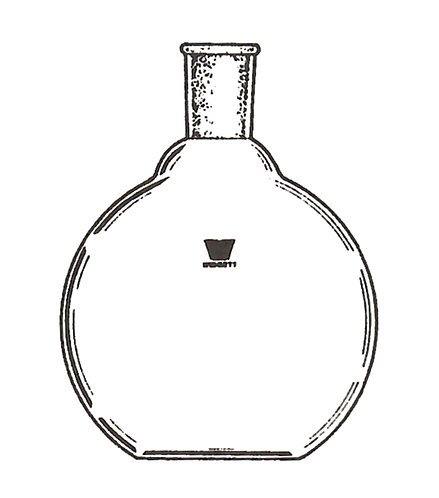 1 Neck Flask [ST] Flat bottom