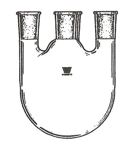 4 Neck Flask [ST] Vertical
