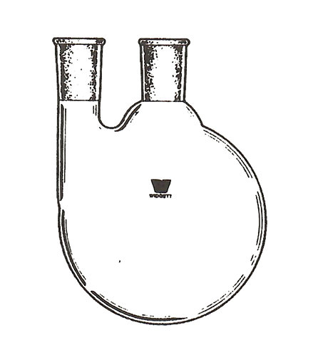 2 Neck Flask [ST] Vertical