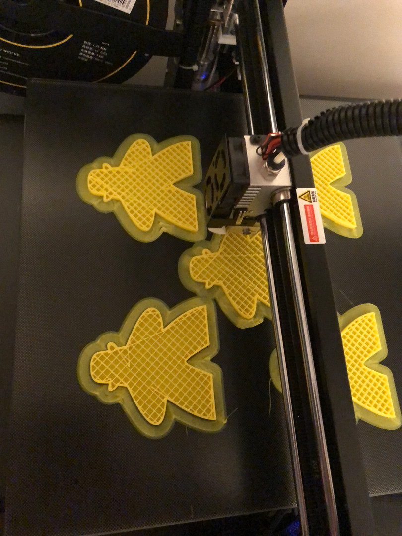 Dastardly Meeples on the printer...