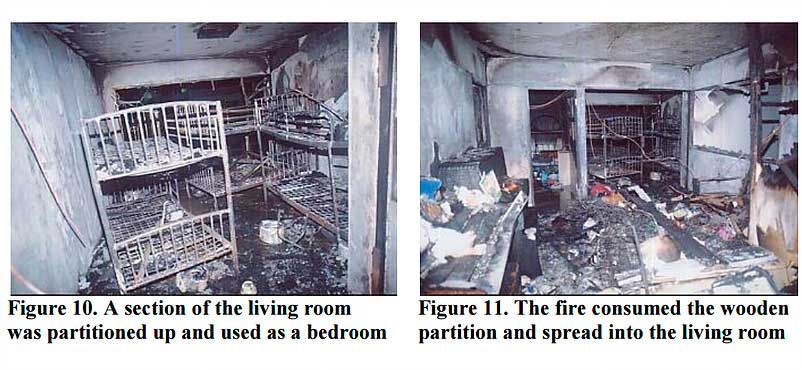 Lack of electrical services