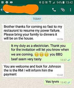 electrician singapore c1
