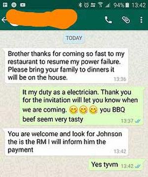 Reno talk electricain