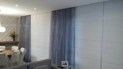 cortina voil com persiana romana  1