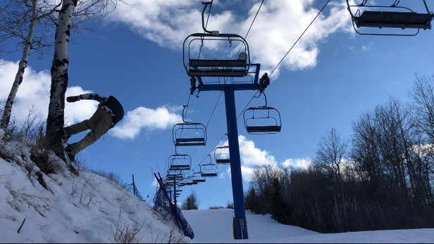 snowboard hardgoods.