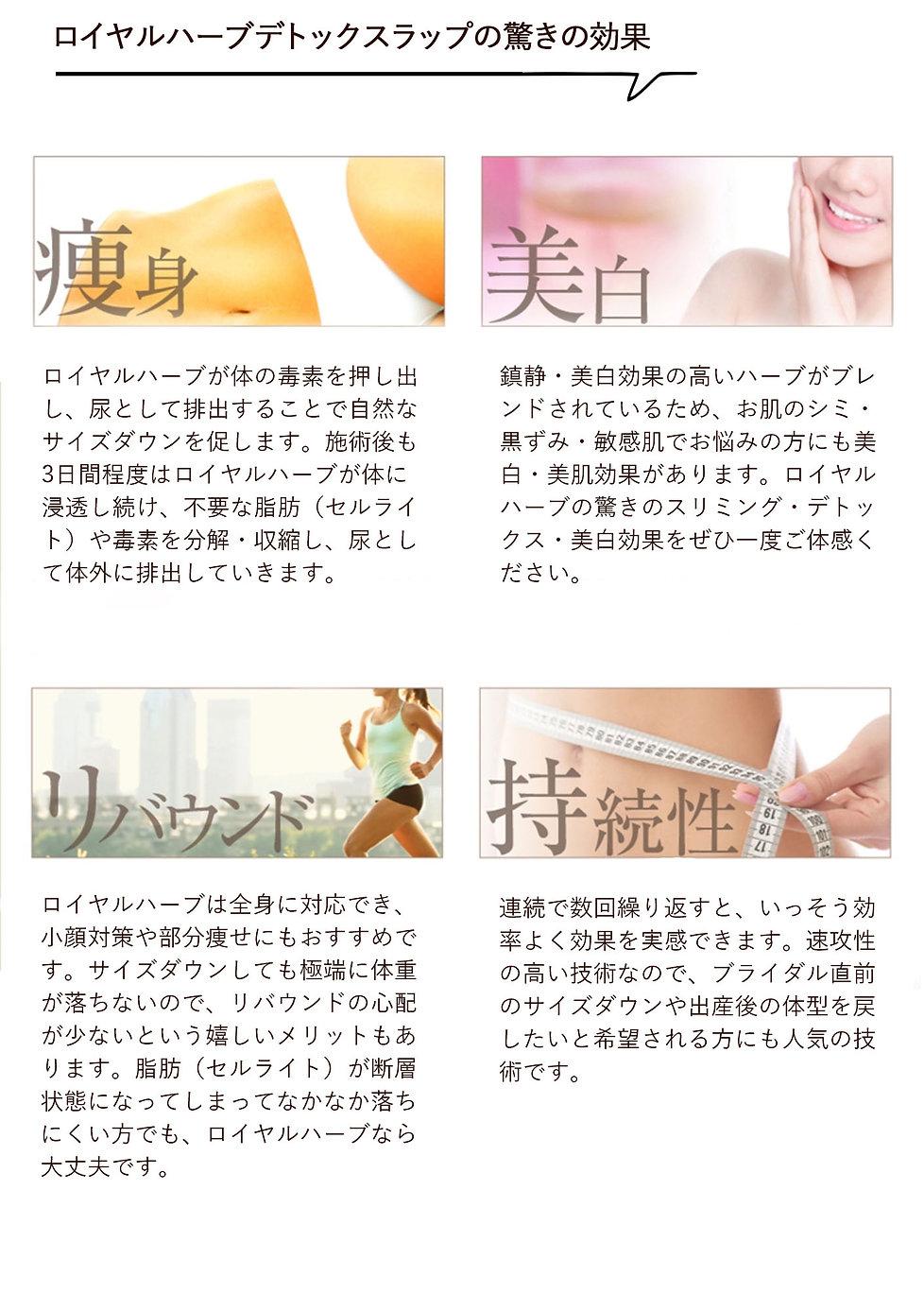 ミイラ痩身。ロイヤルハーブデトックスラップ。アライブ東京。痩身効果。TVで話題沸騰。寝るだけダイエット。痩身。即効性。ダイエット。ウエスト痩せ。脂肪分解。むくみ改善。