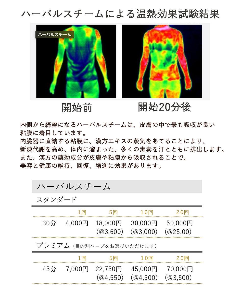 ハーバルスチーム。デトックス。よもぎ蒸し。ヨモギ蒸し。36.5℃。温活。体温UP。美肌・妊活・痩身・リラックス。yosa