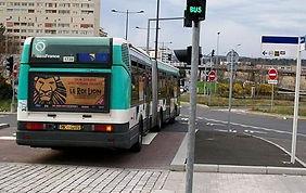 Priorité des bus aus carrefours à feux