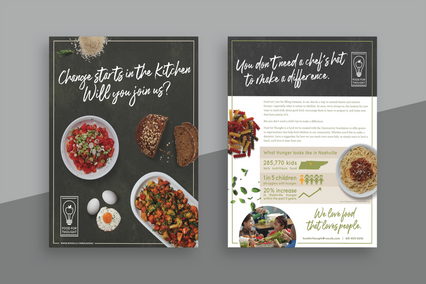 Food For Thought Print Design