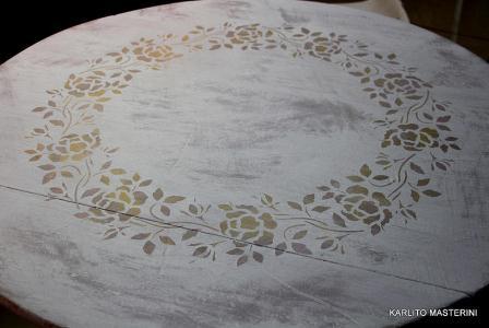Мастер класс  Декорирование стола в стил