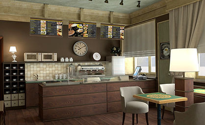 дизайн интерьера кафе в красноярске