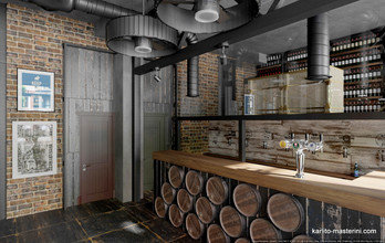 Дизайн проект пивного магазина