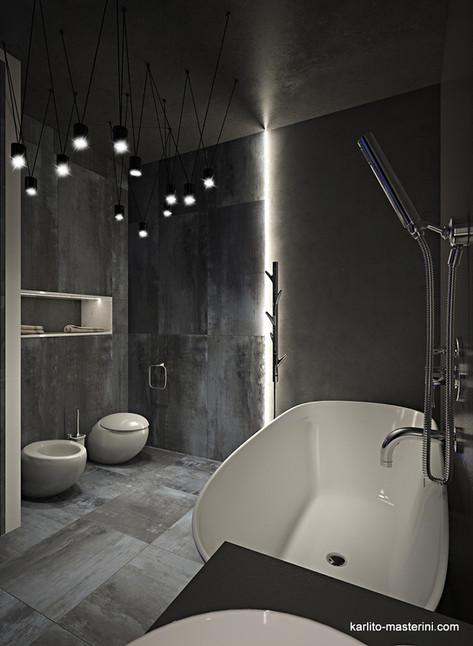 Дизайн проект сванной комнаты