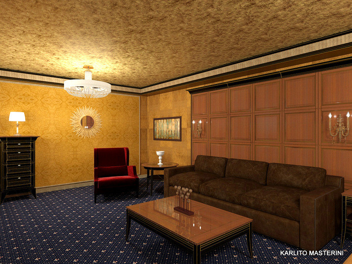Дизайн проект домашнего кинотеатра