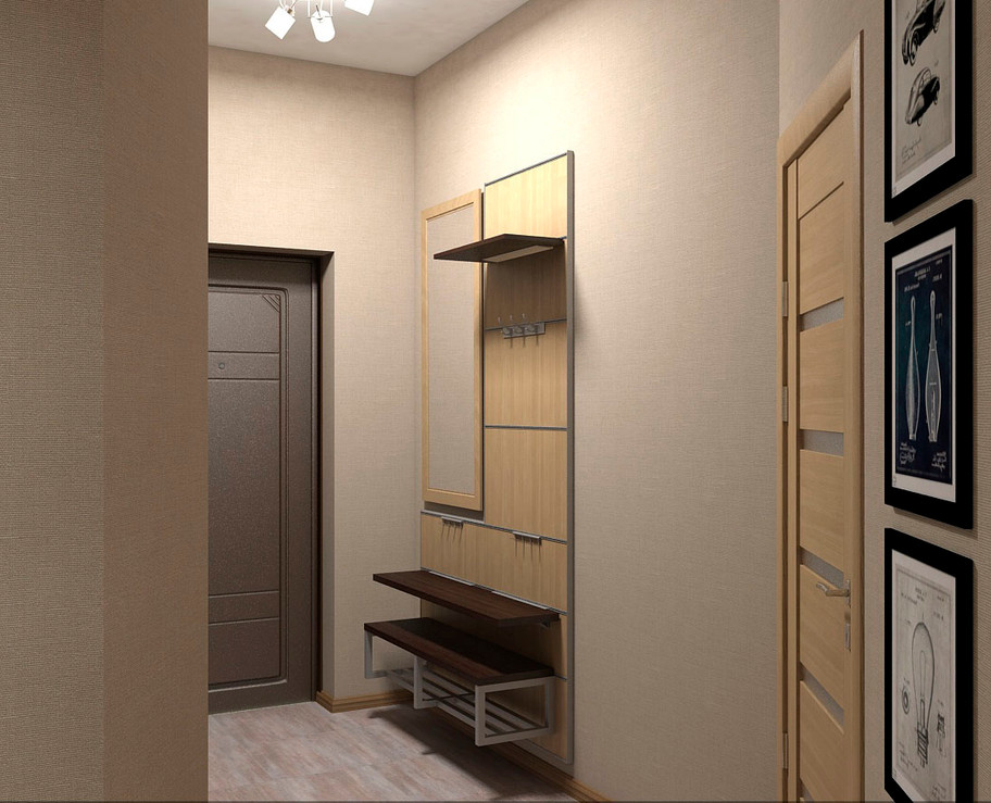 Karlito Дизайн проект коридора