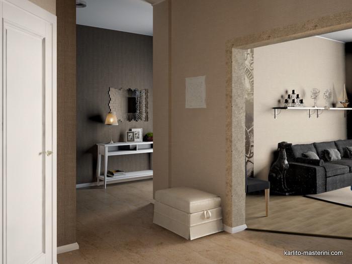 Дизайн проект коридор