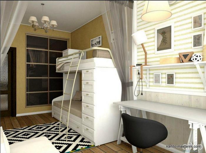 Дизайн проект детской комна