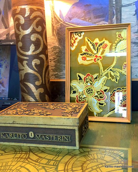Декорирование стекла от Karlito Masterin