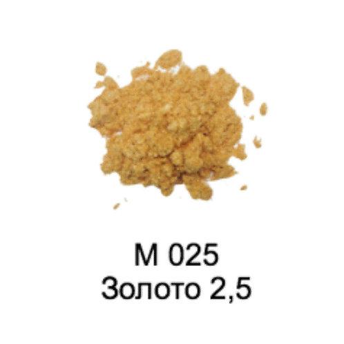 Слюда Жемчужная М025 Золото 2,5 0,015л /0,004кг