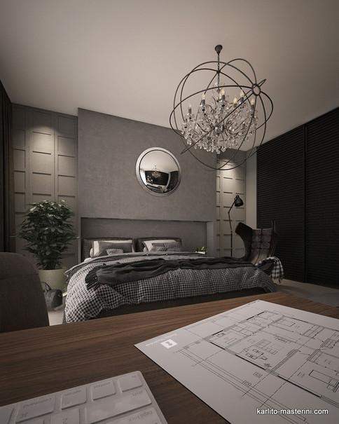 Дизайн проект спальн