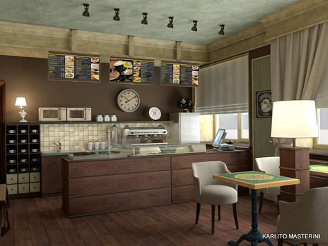 Дизайн проект кафе