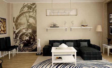 дизайн интерьера квартиры в абакане