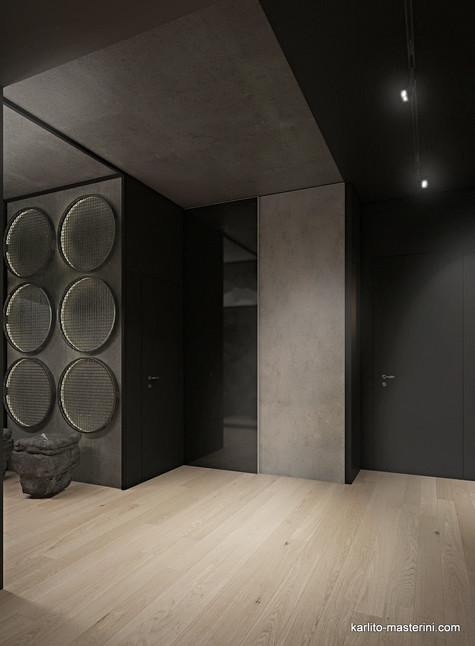 Дизайн проект коридора