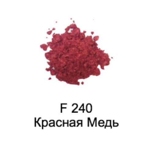 Слюда Жемчужная F240 Красная Медь 0,1л./0,035кг